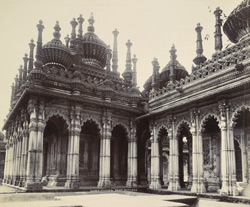 Mausoleum [of Hamid Khan in the Makbara, Junagadh]